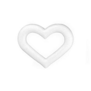 Serce styropianowe puste , duże