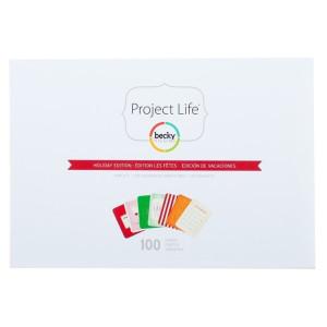 Mini zestaw kart Becky Higgins - Project Life - Holiday