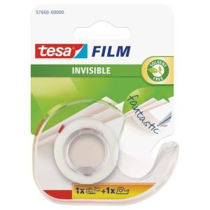 Taśma biurowa z dyspenserem Tesafilm Crystal - 10m x 19mm - Tesa