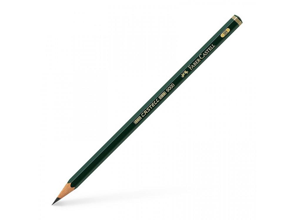 Ołówek grafitowy 9000 - Faber-Castell - 3B