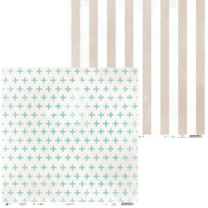 Paper Little Girl 01 - 30 x 30 cm