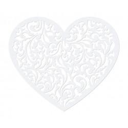 Paper Decorations Heart, 12 x 10cm, 10 pcs