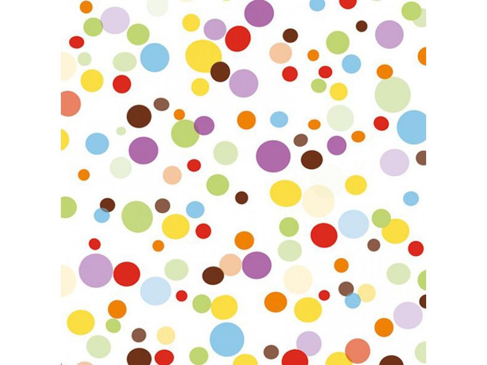 Serwetki ozdobne - Pol-Mak - Colourful Spots, 20 szt.