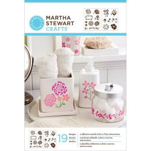 Zestaw szablonów samoprzylepnych - Phrases - Martha Stewart