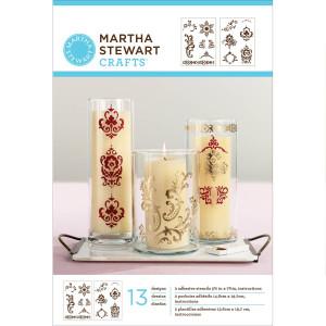 Szablony samoprzylepne 14,6 x 19,7 cm - Fair Isle Dots   - Martha Stewart