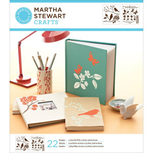 Szablony samoprzylepne 22,2 x 24,8 cm - Typewriter  - Martha Stewart