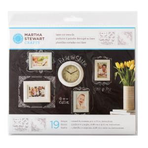 Szablony samoprzylepne 22,2 x 24,8 cm - Birds & Berries - Martha Stewart