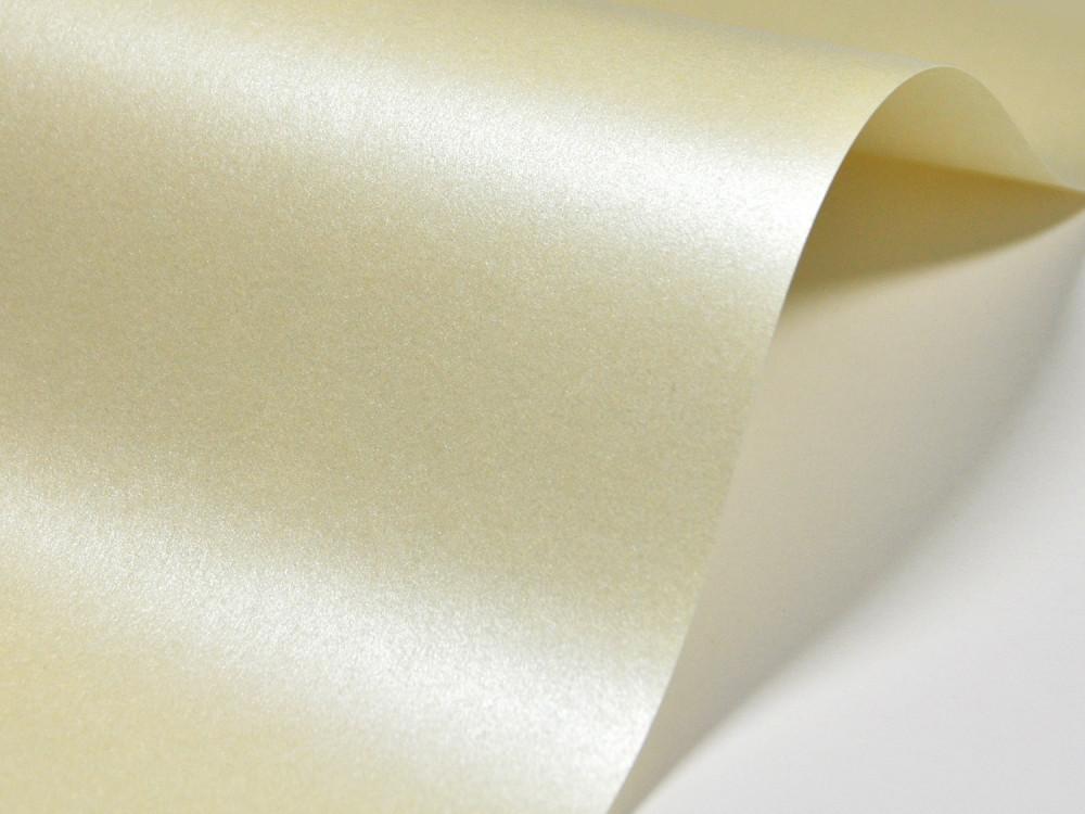 Papier Majestic 120g - Candlelight Cream, kremowy, A4, 100 ark.