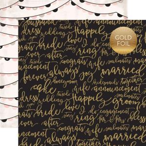 Papier Echo Park - Wedding Bliss - 3 x 4 Journaling Cards