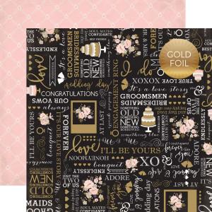 Papier Echo Park - Wedding Bliss - Bridal Bouquet