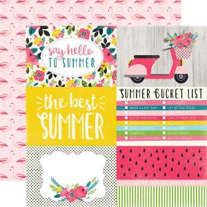 Papier Echo Park - Summer Fun - Sweet Stripe