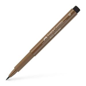 Pisak pędzelkowy Pitt Artist Pen, Raw Umber 180 - Faber-Castell
