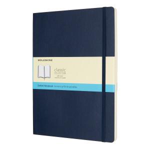 Notatnik Moleskine - Plain Sapphire Soft XL