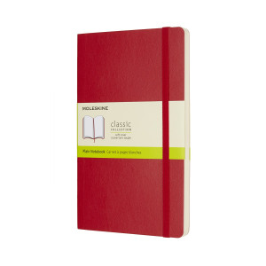Notatnik Moleskine - Ruled Soft Red Large