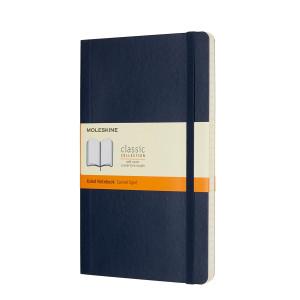 Notatnik Moleskine - Plain Soft Sapphire Large