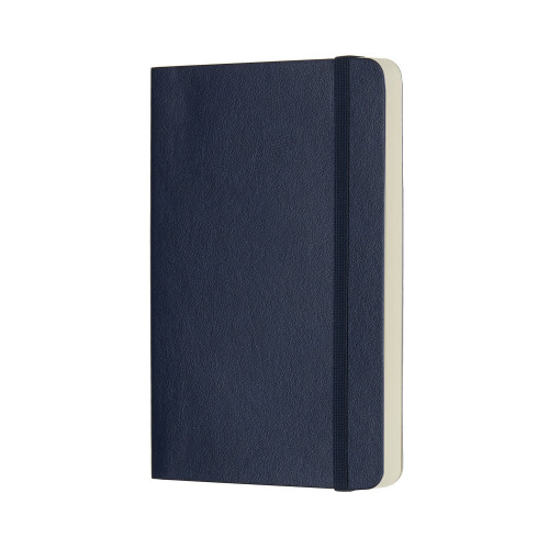 Notatnik Moleskine - Dotted Sapphire Soft Pocket