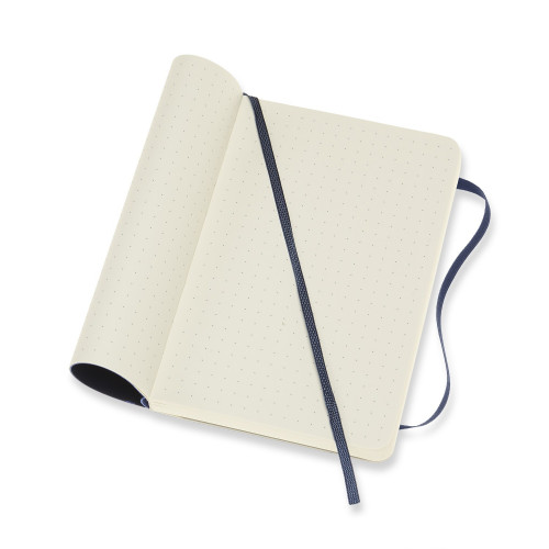 Notatnik Moleskine - Dotted Sapphire Blue Soft Pocket