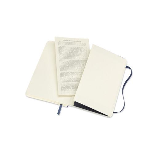 Notatnik Moleskine - Dotted Sapphire Blue Soft Pocket 70g/m2