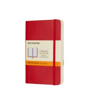 Notatnik Moleskine - Ruled Sapphire Soft Pocket