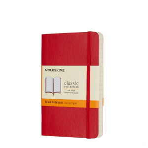 Notebook Moleskine Pocket Ruled Sapphire Soft