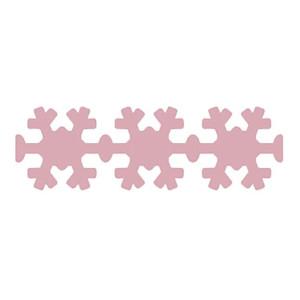 Dziurkacz brzegowy 4 cm 104 - Śnieżynka