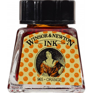 Tusz rysunkowy Winsor & Newton - Nut Brown, 14 ml