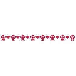 Szablon 60 x 7 cm - Stamperia - Aniołki