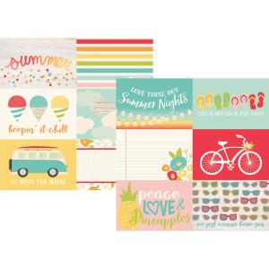 Papier Simple Stories - Summer Days - 4x4 Elements