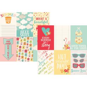 Papier Simple Stories - Summer Days - 4x6 Horizontal