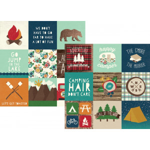 Papier Simple Stories - Cabin Fever - 3x4 Journaling Card