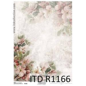 Papier ryżowy decoupage ITD R1167