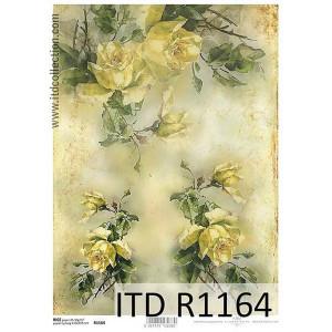 Papier ryżowy decoupage ITD R1165