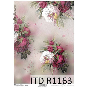 Papier ryżowy decoupage ITD R1164