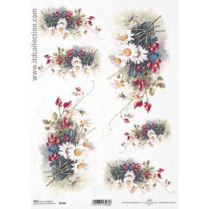 Papier ryżowy decoupage ITD R1102