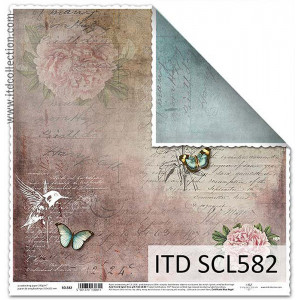 ITD decorative paper for scrapbooking - SCL581