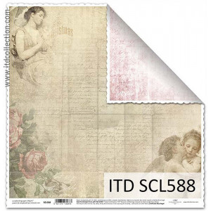 ITD decorative paper for scrapbooking - SCL587