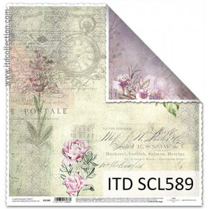 ITD decorative paper for scrapbooking - SCL588