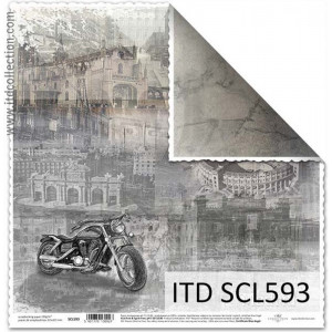 ITD decorative paper for scrapbooking - SCL591