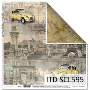 ITD decorative paper for scrapbooking - SCL594