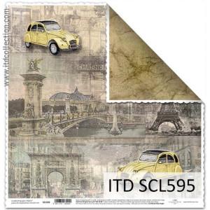 Papier ozdobny ITD do scrapbookingu  - SCL594