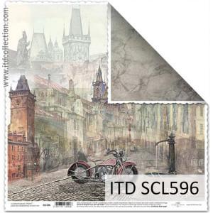 Papier ozdobny ITD do scrapbookingu  - SCL595