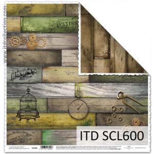 Papier ozdobny ITD do scrapbookingu  - SCL599