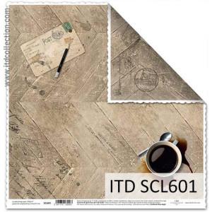 Papier ozdobny ITD do scrapbookingu  - SCL600