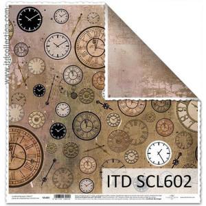 Papier ozdobny ITD do scrapbookingu  - SCL601