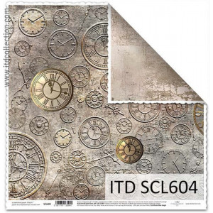 ITD decorative paper for scrapbooking - SCL603