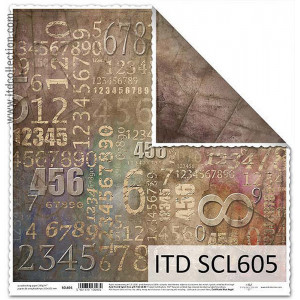 ITD decorative paper for scrapbooking - SCL605