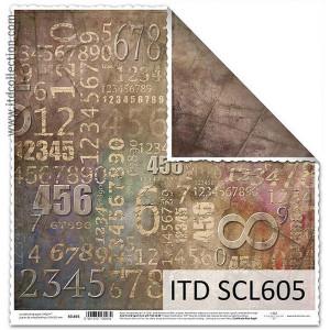 Papier ozdobny ITD do scrapbookingu  - SCL605