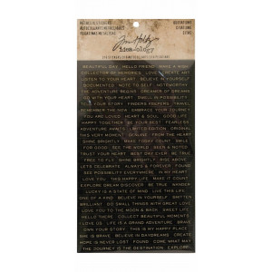 Zestaw kart do journalingu Idea-ology Tim Holtz - Botanical