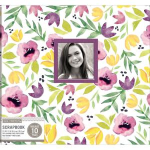 Album 30x30 cm - Purple Poppies - K&Company