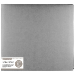 Album 30x30 cm - Faux Leather Bright Pink - K&Company